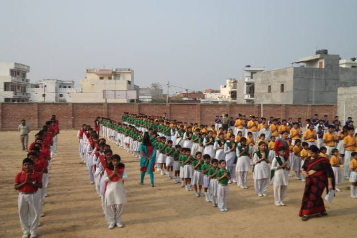 Lucknow Model Public Inter College-Morning Assembly