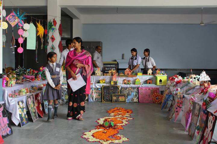 Lucknow Model Public Inter College-School  Exhibition