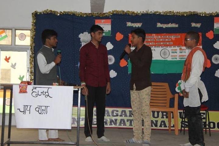 Sagar Nurture International School-Drama
