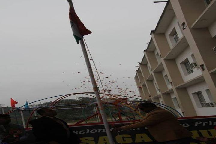 Sagar Nurture International School-Flag Hosting