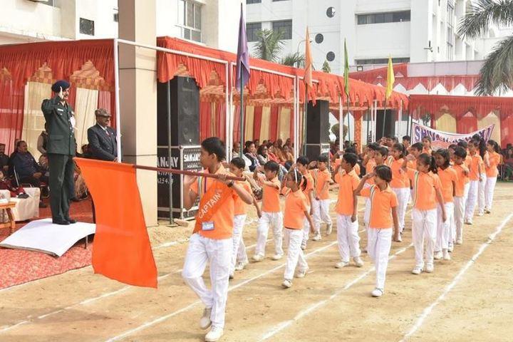 Sagar Nurture International School-March Past