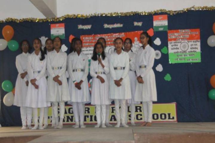 Sagar Nurture International School-Republic Day Celebration