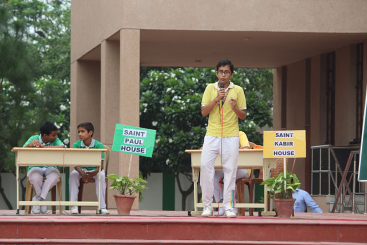 Jesus And Mary Convent School - Debate Competition