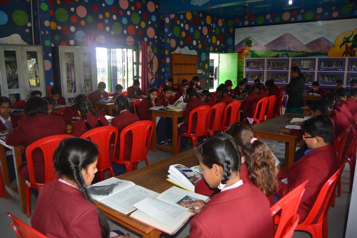 Christu Jyothi Academy - Library