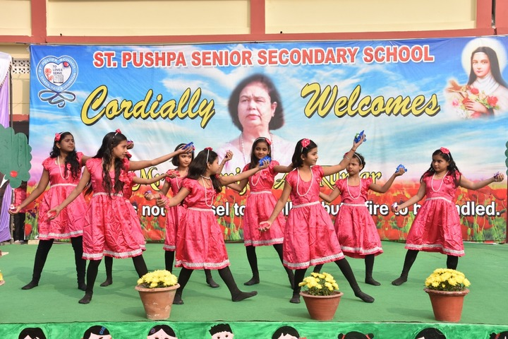 St Pushpa Senior Secondary School-Dance