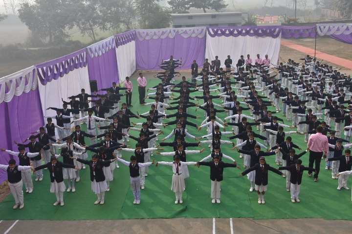 St Pushpa Senior Secondary School-Drill