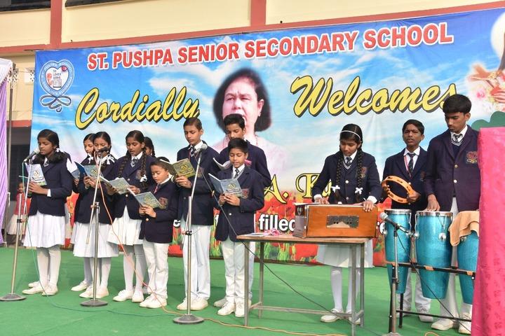 St Pushpa Senior Secondary School-Singing