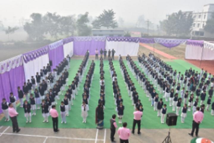 St Pushpa Senior Secondary School-Assembly