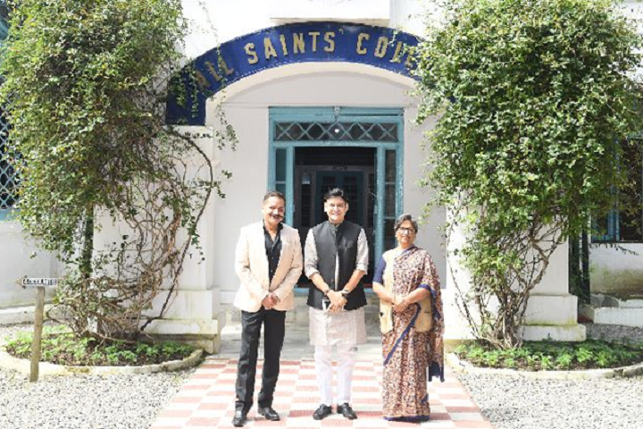 All Saints College-Campus-View entrance