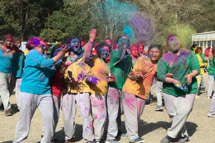 All Saints College-Events holi