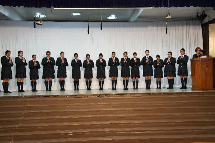 All Saints College-Events investiture ceremony