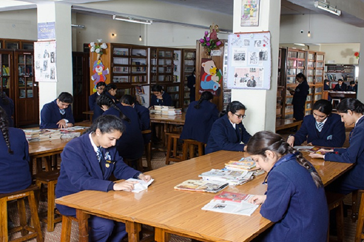 St Marys Convent College-Library with reading room