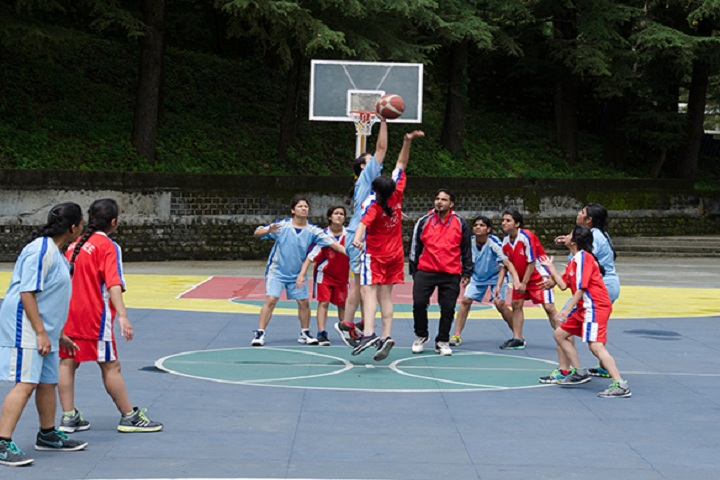 St Marys Convent College-Sports basketball