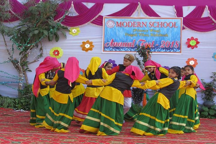 Modern School-Events annual day