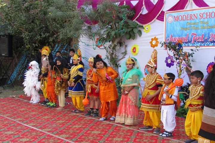 Modern School-Events programme