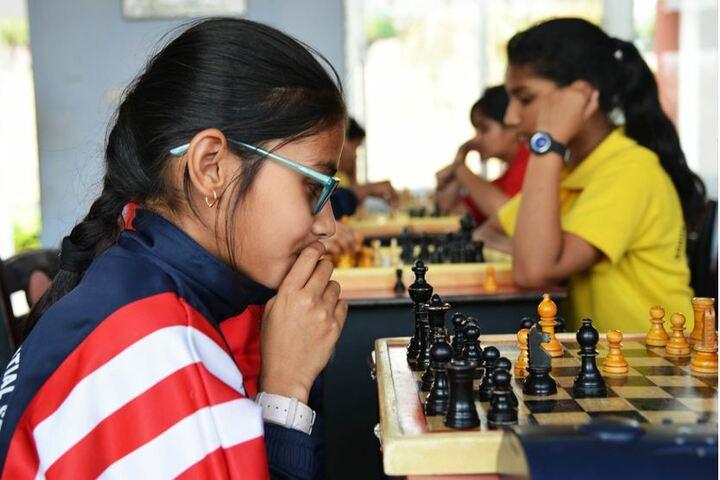 Ashok Hall Girls Residential School-Chess