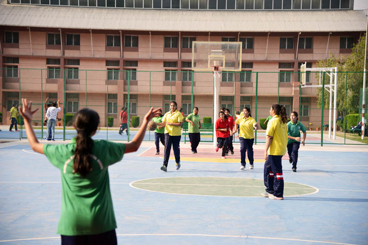 Ashok Hall Girls Residential School-Ground