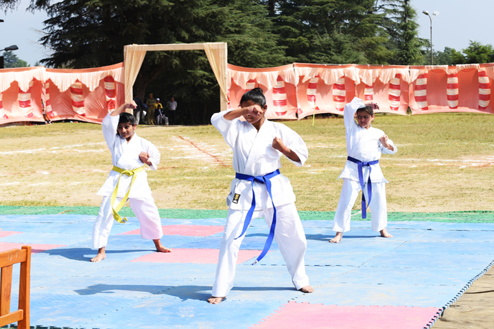 Ashok Hall Girls Residential School-Karate