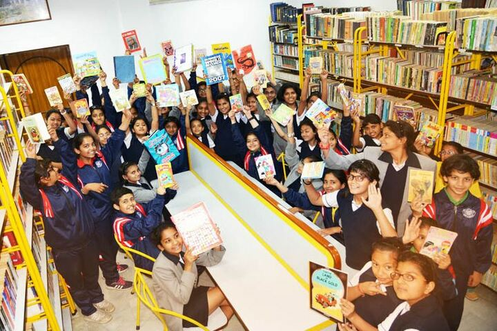 Ashok Hall Girls Residential School-Library
