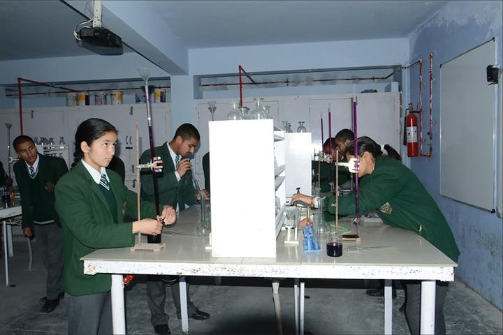 Koormanchal Academy-Chemistry Lab