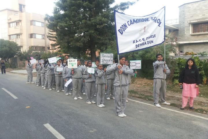 Doon Cambridge School-Rally