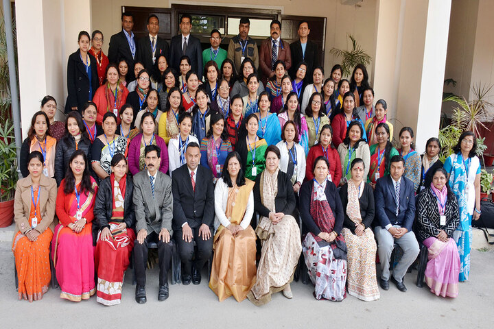 New Doon Blossoms School-Staff Group Photo