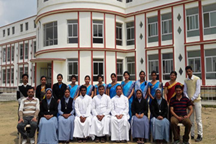 Mount Carmel School-Staff Group Photo
