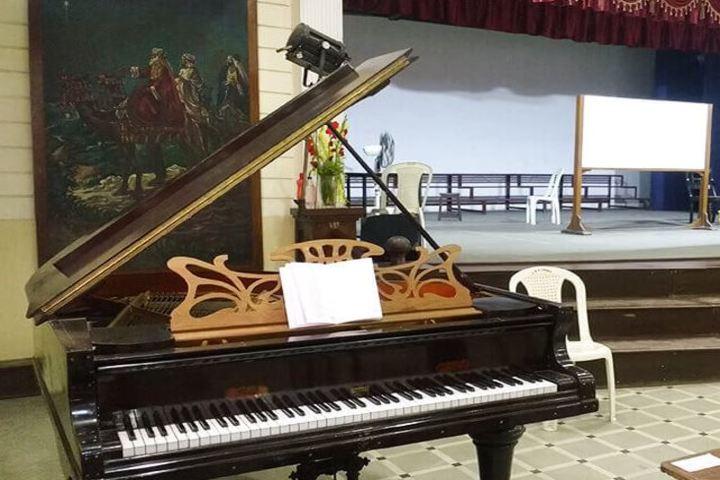 Calcutta Boys School-Music Room