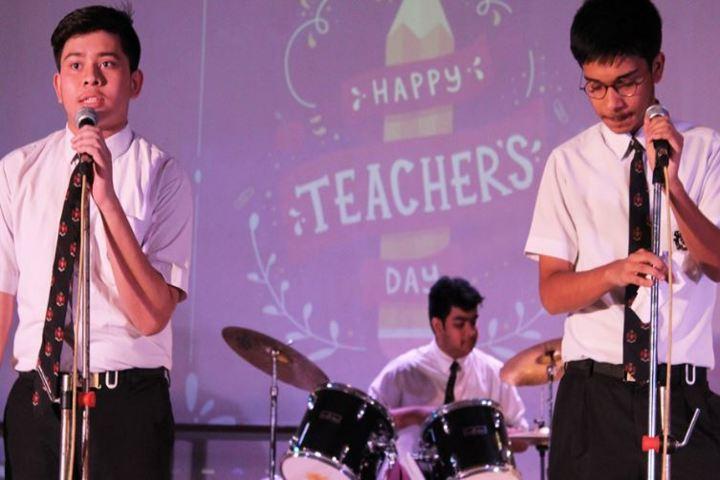 Calcutta Boys School-Singing
