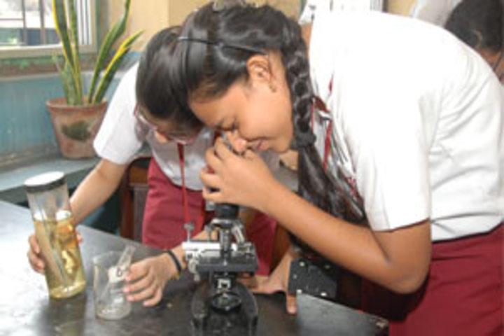 Calcutta Girls High School-Biology Lab