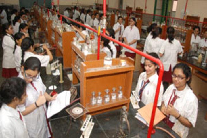 Calcutta Girls High School-Chemistry Lab