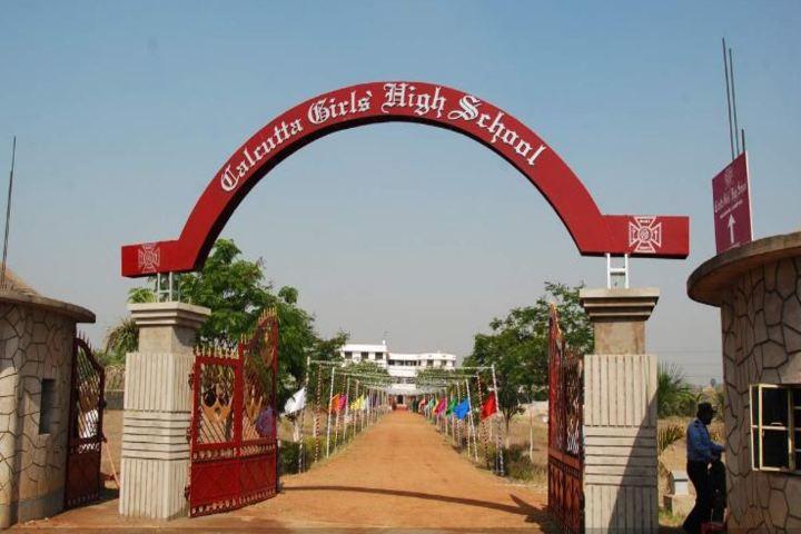 Calcutta Girls High School-Entrance