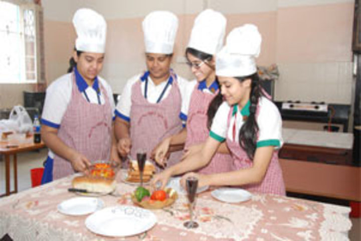 Calcutta Girls High School-Home Science Lab