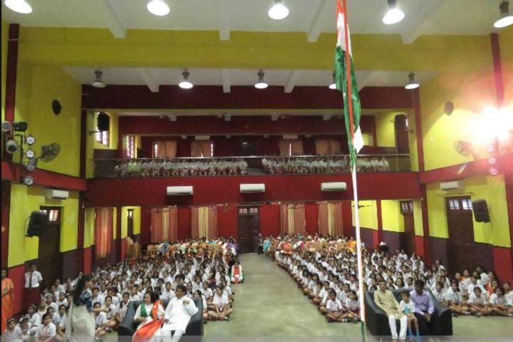 Calcutta Girls High School-Independence Day