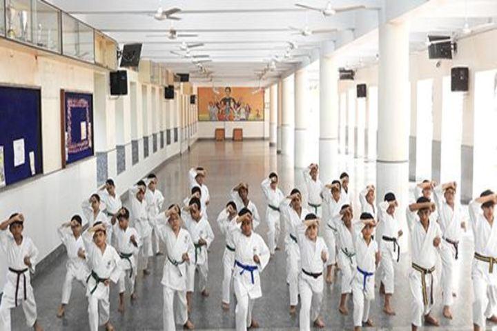 Don Bosco School-Karate