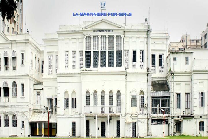 La Martiniere For Girls-Building