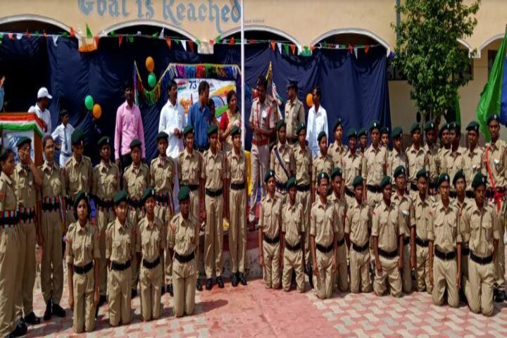 Jawahar Navodaya Vidyalaya No 2-NCC Students
