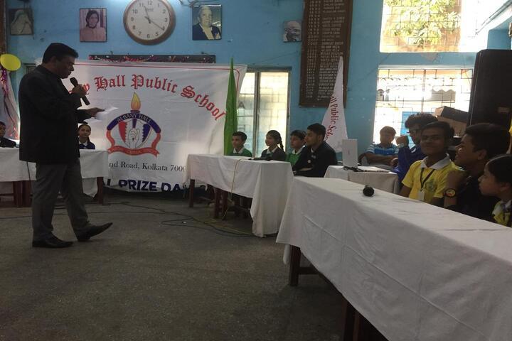 Albany Hall Public School-Debate