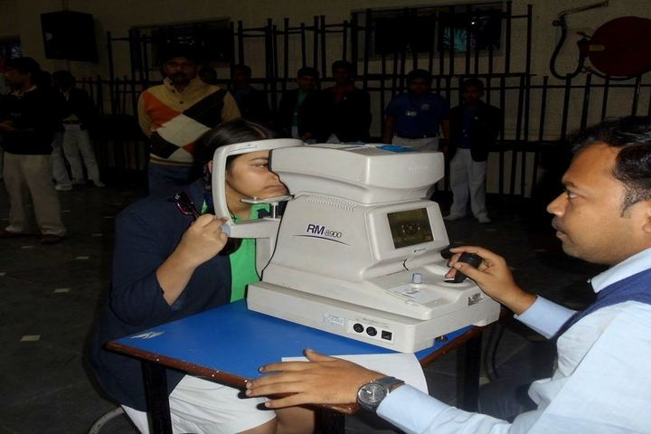 Sri Ram Narayan Singh Memorial High School-Eye Checkup