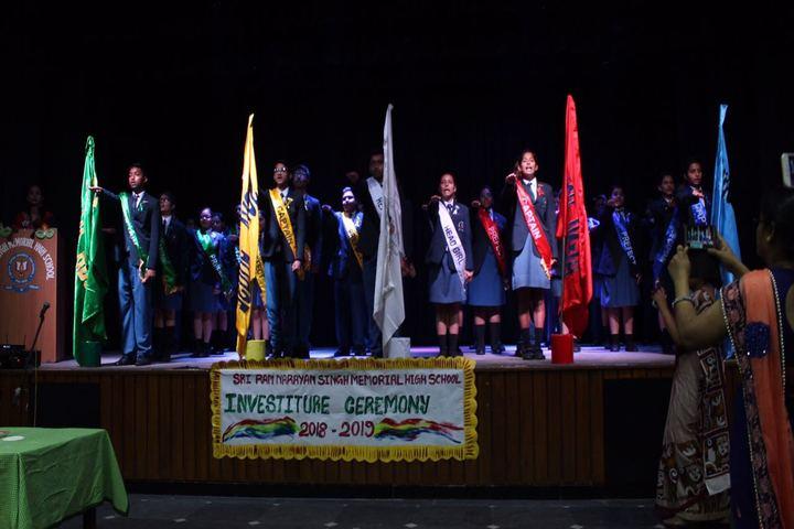 Sri Ram Narayan Singh Memorial High School-Investiture Ceremony