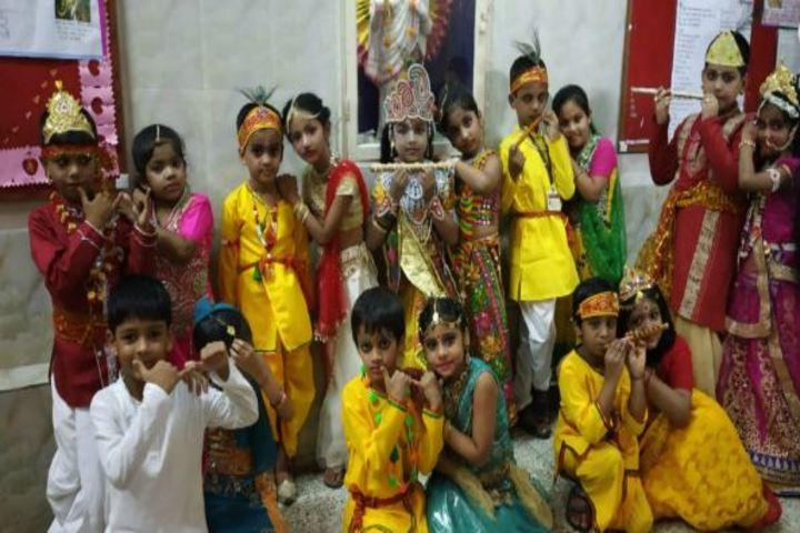 Sri Ram Narayan Singh Memorial High School-Janmashtami