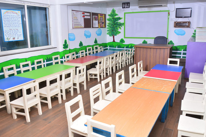 Saifee Golden Jubliee English Public School-Nursery Classroom