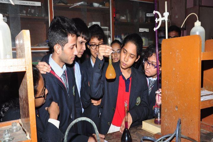 Mansur Habibullah Memorial School-Chemistry Lab