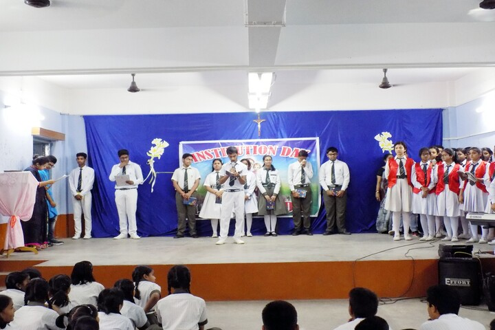 St Josephs Convent High School-Institution Day