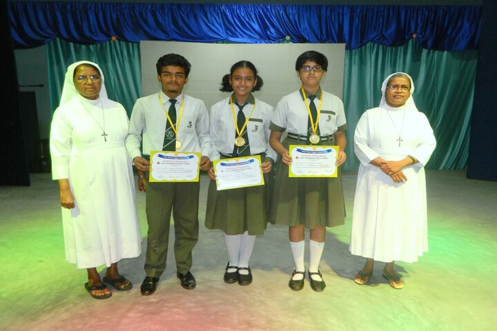 St Josephs Convent High School-Quiz Competition