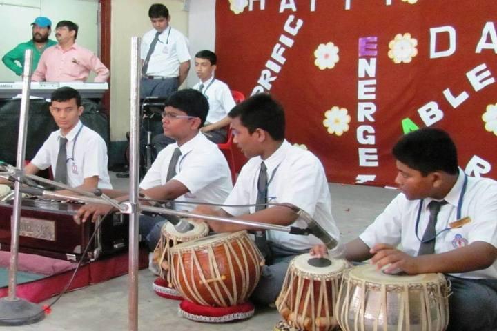 St XavierS School-Music Activity