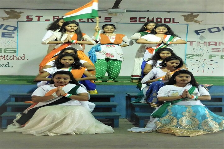 """"""" St. Peters School-Independence Day"""""""