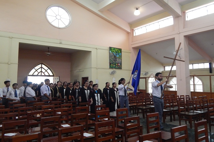 St  Michaels School-Prayer Hall