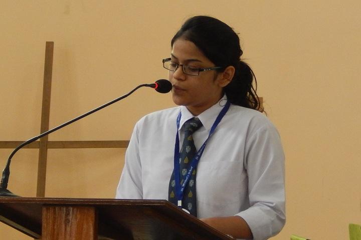 St  Michaels School-Speech
