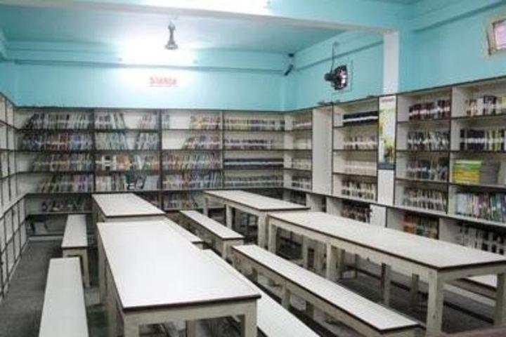 Sunrise English Medium School-Library